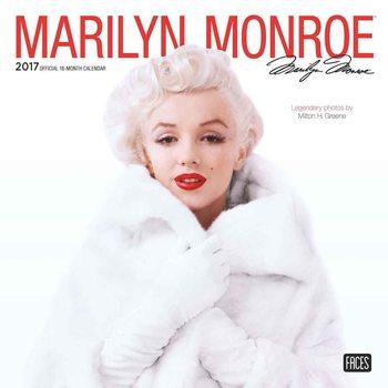 Calendário 2017 Marilyn Monroe