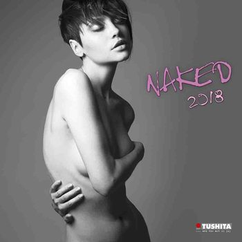 Calendário 2018 Naked