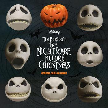 Calendário 2018 Nightmare Before Christmas