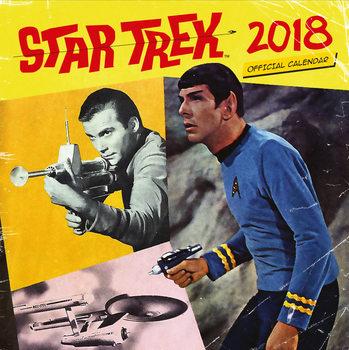 Calendário 2018 Star Trek - TV Series