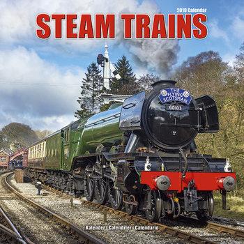 Calendário 2018 Steam Trains