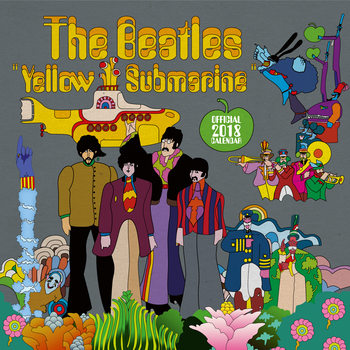 Calendário 2018 The Beatles