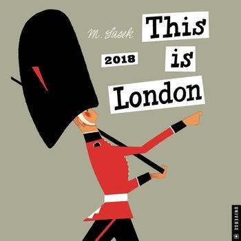 Calendário 2018 This is London