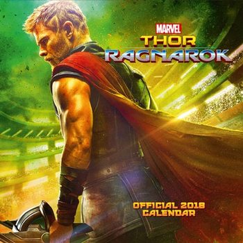 Calendário 2018 Thor