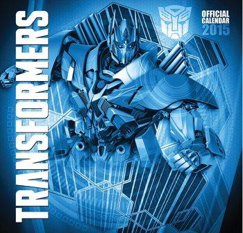 Calendário 2017 Transformers