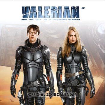 Calendário 2018  Valerian