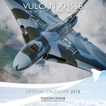 Calendário 2018 Vulcan To The Sky