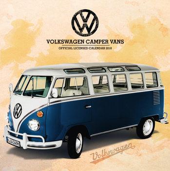 Calendário 2018 VW Camper Vans