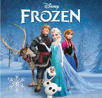 La Reine des neiges Calendrier 2017