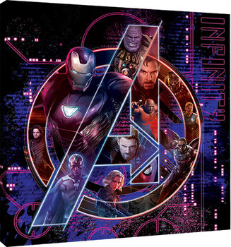 Avengers Infinity War - Icon Characters Canvas Print
