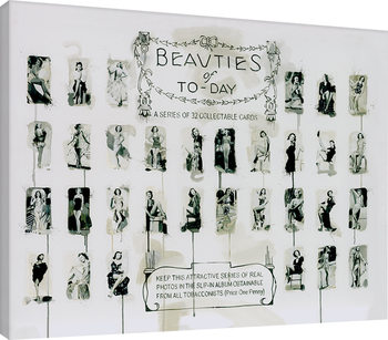 James Paterson - Beauties of To-Day Canvas Print
