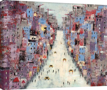 Lee McCarthy - Downtown Canvas Print