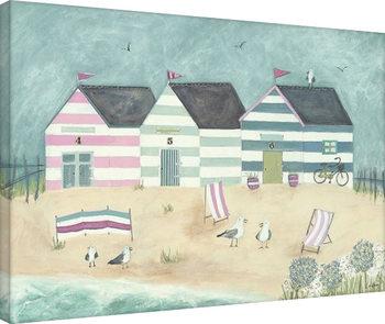 Louise O'Hara - A Sunday Afternoon Bike Ride Canvas Print