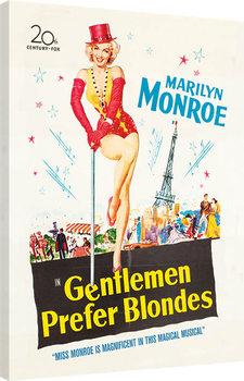Marilyn Monroe - Gentlemen Prefer Blondes Canvas Print