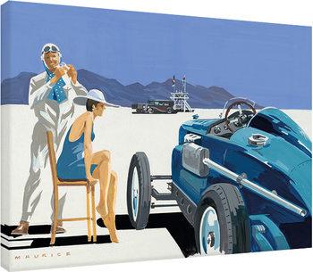 Mike Maurice - Bonneville Salt Flats 2 Canvas Print