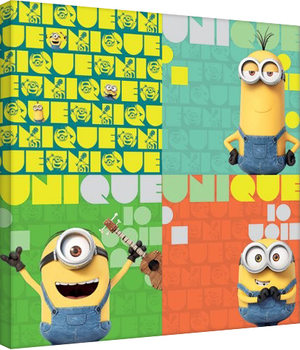 Minions - Unique Canvas Print
