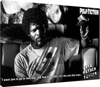 Pulp Fiction - Bad Mother F**ker Canvas Print