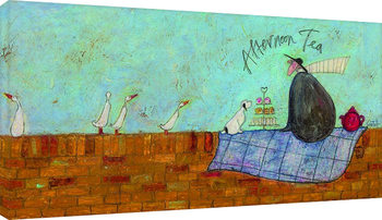 Sam Toft - Afternoon tea Canvas Print