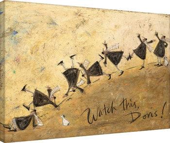 Sam Toft - Watch This, Doris! Canvas Print