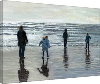 Andrew McNeile Jones - Testing The Waves Canvas-taulu