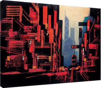Colin Ruffell - Hong Kong Canvas-taulu