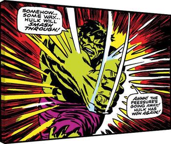 Hulk - Smash Through Canvas-taulu