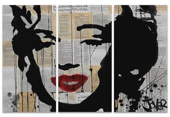 Loui Jover - Marilyn Canvas-taulu
