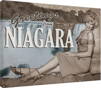 Marilyn Monroe - Niagara Canvas-taulu