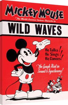 Mikki Hiiri (Mickey Mouse) - Wild Waves Canvas-taulu