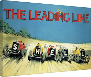 Shell - The Leading Line, 1923 Canvas-taulu