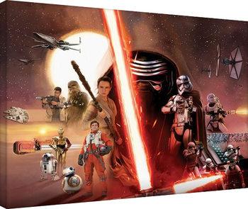 Tähtien sota: Episodi VII – The Force Awakens - Galaxy Canvas-taulu