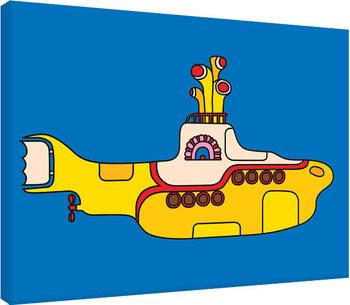 The Beatles - Yellow Submarine Bold Canvas-taulu