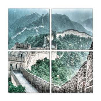 China - Great Wall of China Tableau Multi-Toiles