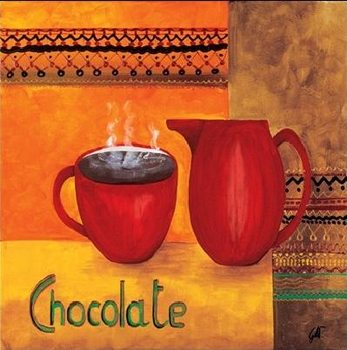 Chocolate Reproduction d'art