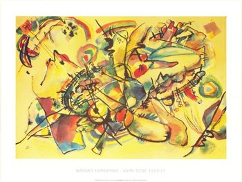Composition 1917 Reproduction d'art