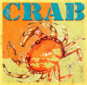 Crab Reproduction d'art