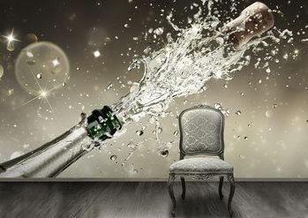 Decoração de parede Champagne
