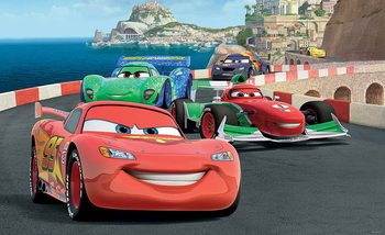 Papel de parede Disney Cars Lightning McQueen Bernoulli