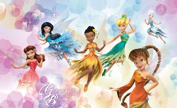 Papel de parede Disney Fairies Iridessa Fawn Rosetta