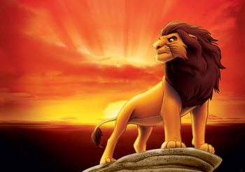 Papel de parede  Disney Lion King Sunrise