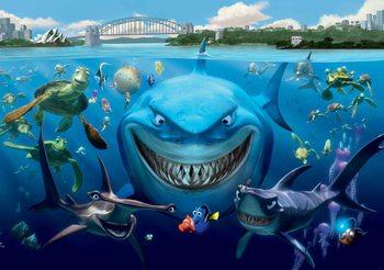 Papel de parede Disney Nemo
