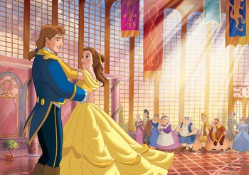 Papel de parede  Disney Princesses Belle Beauty Beast