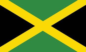 Papel de parede Flag Jamaica