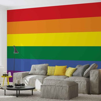 Papel de parede Flag Rainbow Gay Pride