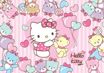 Papel de parede  Hello Kitty