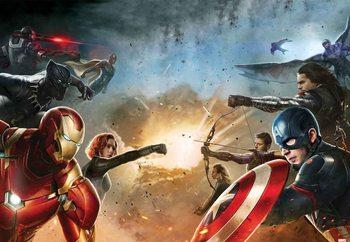Papel de parede Marvel Avengers (10902)