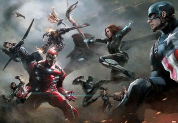 Papel de parede Marvel Avengers (10903)