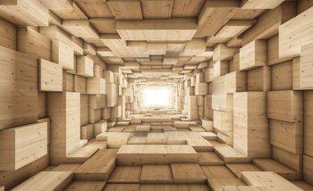 Papel de parede Modern Abstract Design 3D
