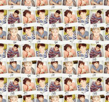 Decoração de parede One Direction - Collage