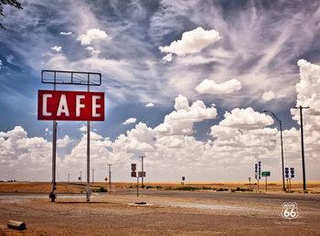 Decoração de parede Route 66 - Sky